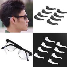 4Pair Anti Slip Silicone Ear Hooks Grip Holder for Glasses Eyeglass Sunglasses