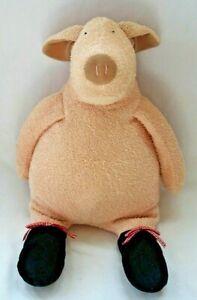 "Manhattan Toy Large 15-19"" Terry Plush Pierre Pig Tiptoes Ballerina - RARE"