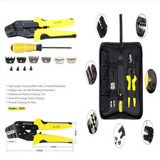 4 In 1 Professional Wire Crimper Tools Wire Crimper Plier Screwdriver+Terminals