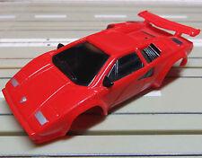 For H0 Slotcar Racing Model Railway Lamborghini Bodywork for Tyco Motor