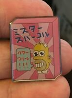 The Simpsons Mr. Sparkle enamel pin retro 80s 90s Japanese hat lapel bag cute
