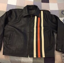 GEEK SQUAD 5 Year Anniversary Men's Leather Jacket