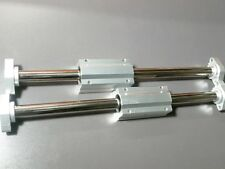"2 x 20mm 20"" Hardened Shafts & 2 Long Linear Blocks SCS20LUU Rail Bearing Motion"