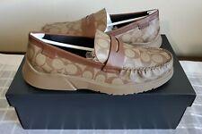 Coach Men's Shoes Size 11D CTYSL SIG LFR - G4952 [Brown/Beige] LIMITED EDITION