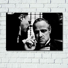 24x36inch The Godfather Corleone Vintage Poster Wall Art Canvas Print