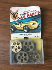 NOS Vintage Classic Slot Car Model Brass Spur Gear 50 Tooth #3217 New in Pack