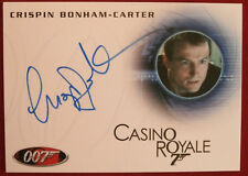JAMES BOND - CASINO ROYALE - CRISPIN BONHAM-CARTER, Hot Room Dr - Autograph Card