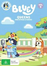 Bluey Volume 9 Queens and Other Stories DVD & Rated G Region 4 Aus