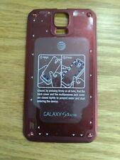 Samsung Galaxy S5 Active Puerta Trasera I Nuevo I Rojo