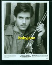 MICHAEL PARE VINTAGE 8X10 PHOTO 1984 HANDSOME PORTRAIT STREETS OF FIRE