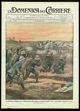 1911 Italian Infantry Patrol Fighting a Horde of Arabs, Italo-Turkish War