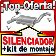 Silenciador Intermedio VW GOLF VENTO 1.8 90PS 1.9 TD 75 91-00 Centro Escape NNT