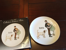"Norman Rockwell Collectors Plate ""Big Brother"" 6 1'2"""