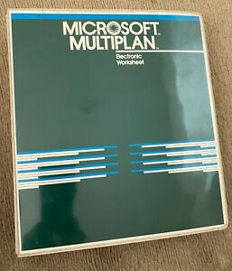 1982 Microsoft Multiplan Electronic Worksheet CP/M-80 Manual