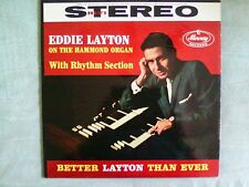 Eddie Layton - Better Layton Than Ever LP Mercury Records