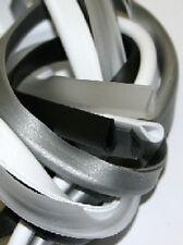 Kederband U-Profil aus Weich-PVC für Bleche bis 3,5mm - halbtransparent