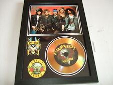 GUNS & ROSES  SIGNED GOLD CD  DISC  211