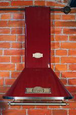 NEUHEIT Wandhaube Kaiser Rot 90cm EEK:A Dunstabzugshaube 910m³/h SONDERPREIS