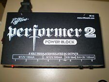 PERFORMER 2  POWER BLOCK  FROM RIFFTONE 9/12/18V OPTIONS ISOLATED OUTPUTS NEW!