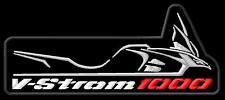 Schiena schiena PATCH RICAMATE VSTROM Biker Colour ricamate emblemi v2 USA Kustom 59