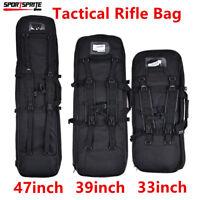 Tactical Shotgun Rifle Bag Padded Carry Gun Case for Hunting Fishing Camping