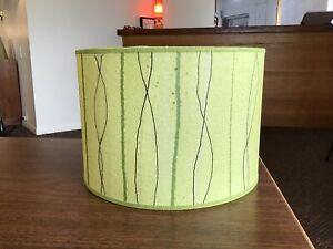 Green Mid Century Modern Vintage Style Lamp Shade Atomic Retro 8811