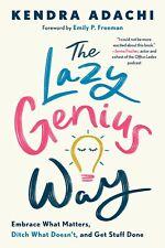 The Lazy Genius Way Hardcover PREORDER 08
