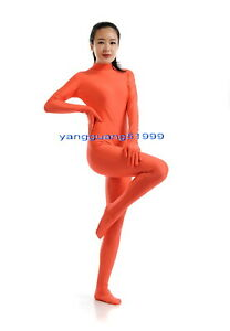 Women Body Suit Costumes No Head 23 Color Lycra Spandex Catsuit Costumes F270