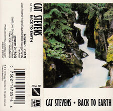 "K 7 AUDIO (TAPE) CAT STEVENS  ""BACK TO EARTH"""