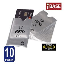 10x RFID Blocking Sleeve Secure Credit Debit Card ID Protector Anti Scan Safet