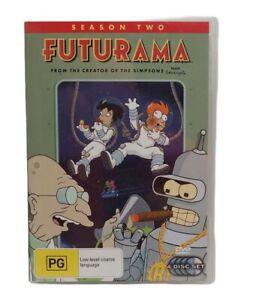 FUTURAMA Season Two DVD Free Tracked Post