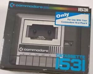 Spares And Repairs Retro Commodore 1531 Datasette Cassette Reader Original Box