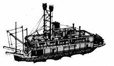 Bauplan Mississippi Modellbauplan Schiffsmodell Binnenschiff