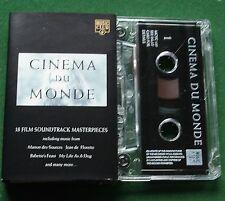 Cinema du Monde inc Manon des Sources Jean de Florette + Cassette Tape - TESTED