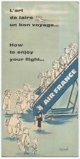Air France 1959 Bon Voyage booklet