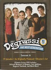 DEGRASSI : THE NEXT GENERATION - 6th Series. Director's Cut (4xDVD BOX SET 2008)