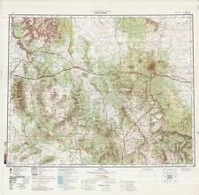 Russian Soviet Military Topographic Maps -  FLAGSTAFF (USA), 1:500 000, ed. 1982
