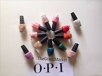 *OPI NAIL POLISH LACQUER CHOOSE ANY COLOR BASE TOP 100% Brand New & Genuine Rare