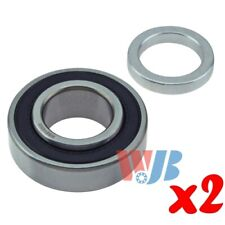 Pair of 2 New Rear Wheel Bearing WJB WB514003 Interchange 514003 88128RB
