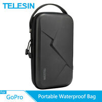 TELESIN Portable Storage Bag Waterproof Carrying Case for GoPro 8 7 Osmo Action