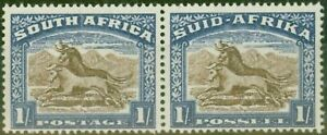 South Africa 1939 1s Brown & Chalky Blue SG62 V.F MNH