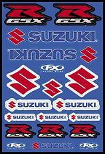 Factory Effex - 15-68400 - OEM Universal Graphic Sticker/Decal Kit, Suzuki