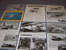 VINTAGE..GRUMMAN SA-116 ALBATROSS HISTORY...HISTORY/PHOTOS/DETAILS..RARE! (395L)