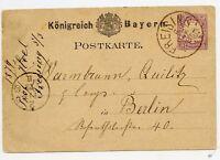 Germany 1879 Vintage Postcard