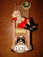 Memories of Santa Collection 1878 Knickerbocker St.Nick New In Box