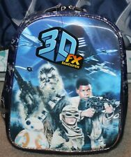 New! Boys/Girls Star Wars Mini 3D Backpack (Bag; Join The Resistance) - Blue