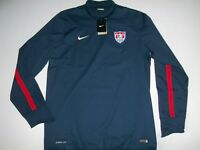 NIKE Storm-Fit Soccer USA National Team PULLOVER Training JACKET Mens Sz XL NEW