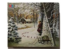 1000 Piece Puzzle, Charles Wysocki's Americana Series A Cardinal Christmas