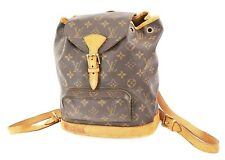 Authentic LOUIS VUITTON Montsouris MM Monogram Backpack Bag #37454