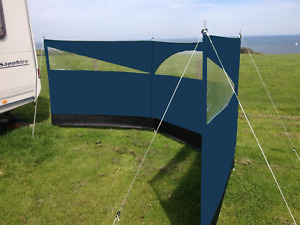 Wind screen windbreaker Blocker 150 x 500cm Camping Garden Beach Wind Break